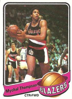 1979-80 Topps #63 Mychal Thompson Front