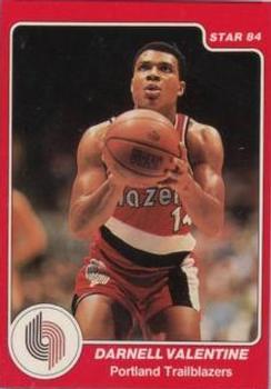 1983 84 Star #107 Darnell Valentine Front