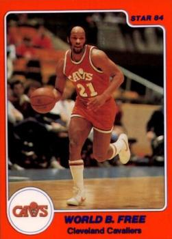 1983-84 Star #228 World B. Free Front