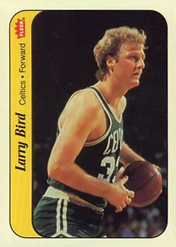 1986-87 Fleer - Stickers #2 Larry Bird Front
