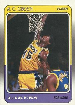 90ed5b80ce6 Collection Gallery - Pajderman - A.C. Green | The Trading Card Database