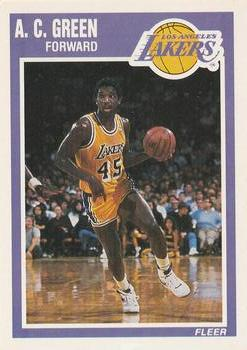28f9458a488 Collection Gallery - Pricemaster - A.C. Green | The Trading Card ...