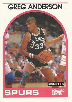 1989-90 Hoops #7 Greg Anderson Front