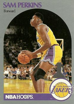 1990-91 Hoops #415 Sam Perkins Front