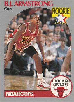 1990-91 Hoops #60 B.J. Armstrong Front