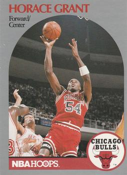 1990-91 Hoops #63 Horace Grant Front