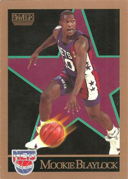 1990-91 SkyBox #176 Mookie Blaylock Front
