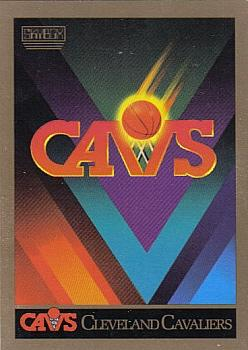 1990-91 SkyBox #332 Cleveland Cavaliers Front