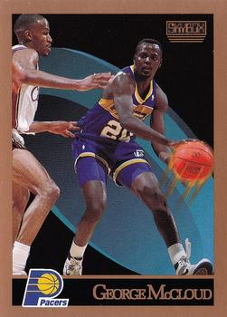 1990-91 SkyBox #116 George McCloud Front
