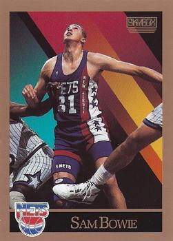 1990-91 SkyBox #177 Sam Bowie Front