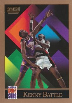 1990-91 SkyBox #405 Kenny Battle Front