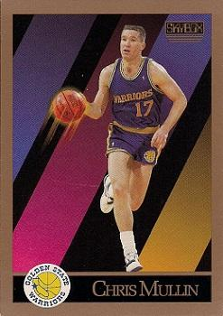 1990-91 SkyBox #98 Chris Mullin Front
