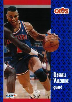 1991 92 Fleer #39 Darnell Valentine