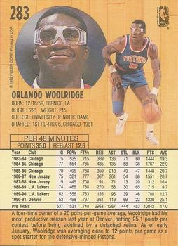 Orlando Woolridge Gallery | The Trading Card Database