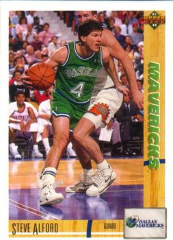 1991-92 Upper Deck #250 Steve Alford Front