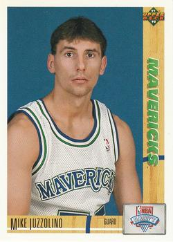 1991-92 Upper Deck #16 Mike Iuzzolino Front