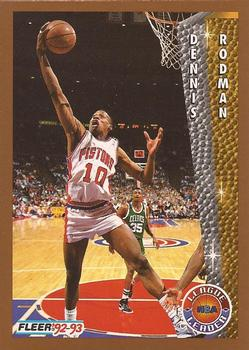 1992 93 Fleer 239 Dennis Rodman Front