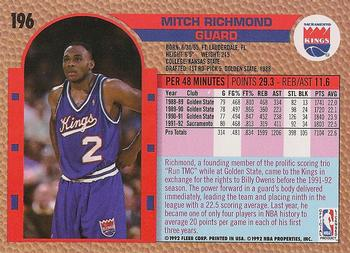 Mitch Richmond Gallery - 1992-93 | The Trading Card Database