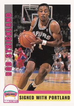 1992-93 Hoops #210 Rod Strickland Front