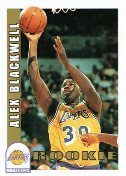 1992-93 Hoops #408 Alex Blackwell Front