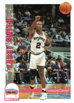 1992-93 Hoops #468 Larry Smith Front