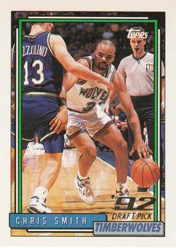 1992-93 Topps #244 Chris Smith Front
