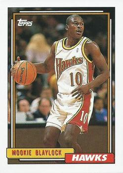 1992-93 Topps #268 Mookie Blaylock Front