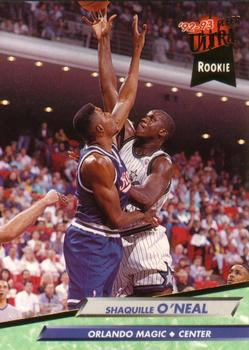1992-93 Ultra #328 Shaquille O'Neal Front