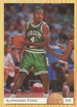1993 Classic Draft Picks #34 Alphonso Ford Front