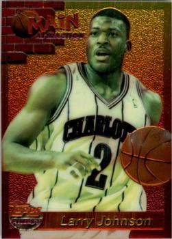1993-94 Finest - Main Attraction #3 Larry Johnson Front