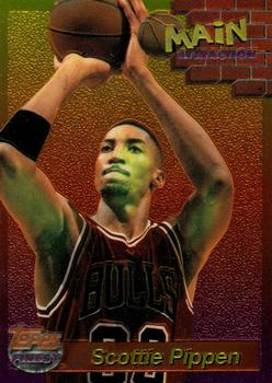 1993-94 Finest - Main Attraction #4 Scottie Pippen Front
