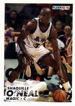 1993-94 Fleer #149 Shaquille O'Neal Front