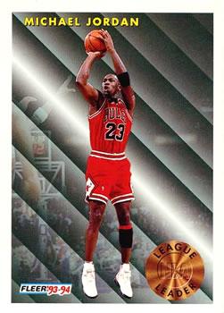 1993-94 Fleer #224 Michael Jordan Front