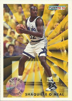 1993-94 Fleer #231 Shaquille O'Neal Front