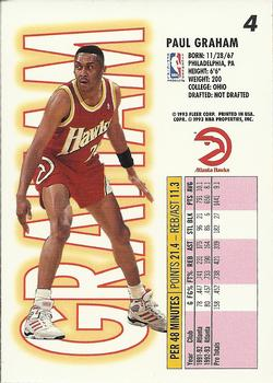 1993-94 Fleer #4 Paul Graham Back