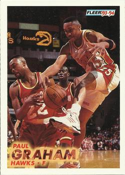1993-94 Fleer #4 Paul Graham Front