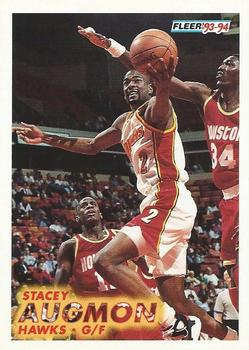 1993-94 Fleer #1 Stacey Augmon Front