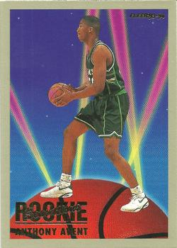 1993-94 Fleer - Rookie Sensations #1 Anthony Avent Front