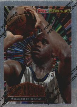 1994-95 Finest - Cornerstone #CS1 Shaquille O'Neal Front