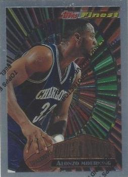 1994-95 Finest - Cornerstone #CS2 Alonzo Mourning Front