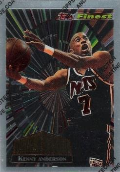 1994-95 Finest - Cornerstone #CS5 Kenny Anderson Front