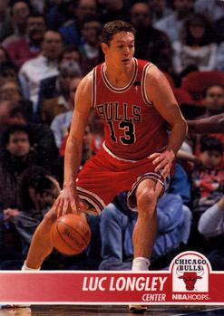 1994-95 Hoops #28 Luc Longley Front