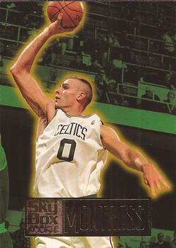 1994-95 SkyBox #208 Eric Montross Front