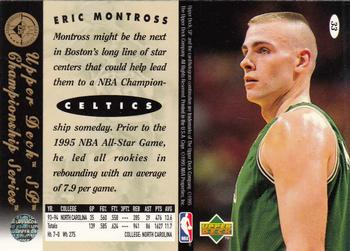 1994-95 SP Championship #33 Eric Montross Back