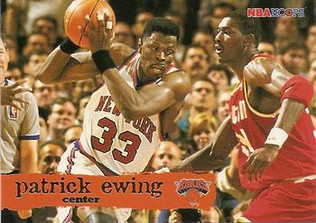 1995-96 Hoops #107 Patrick Ewing Front