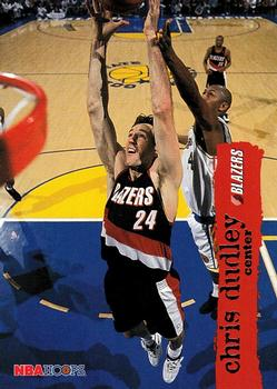 1995-96 Hoops #133 Chris Dudley Front