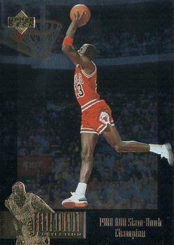 1995-96 Upper Deck - Michael Jordan Collection  JC6 Michael Jordan   Slam  Dunk fd649713e1