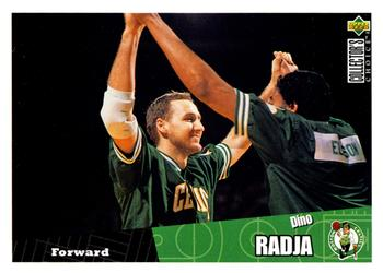 1996-97 Collector's Choice #8 Dino Radja Front