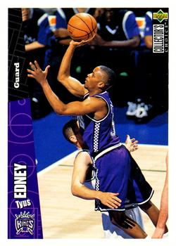 1996-97 Collector's Choice #136 Tyus Edney Front