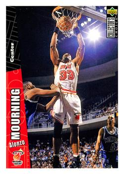 1996-97 Collector's Choice #276 Alonzo Mourning Front
